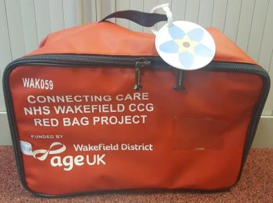 "Simple ""Red bag"" scheme speeds up care for older people"