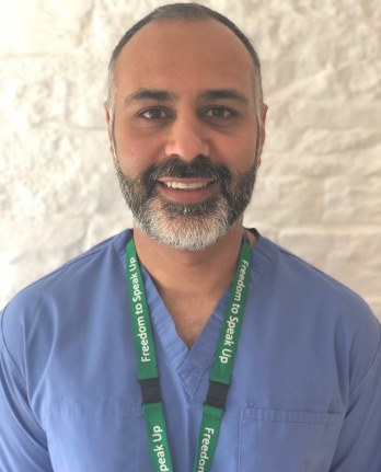 Meet Neeraj Bhasin, the new Regional Clinical Director for Vascular Services across West Yorkshire